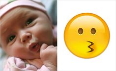 Ten seriously cute babies who look exactly like emojis