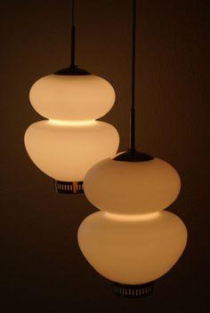Danish lamp modern vintage pendants by Bent Karlby, Lyfa Morup Louis Poulsen era | eBay