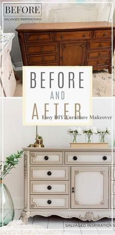 How to blend paint on furniture don t throw away your old furniture 29 upcycled furniture projects you ll love! Chalk Paint Furniture, New Furniture, Furniture Projects, Furniture Making, Furniture Makeover, Rustic Furniture, Outdoor Furniture, Bedroom Furniture, Chalk Paint Dresser
