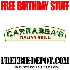 FREE BIRTHDAY STUFF - Carrabba's Italian Grill - Birthday Freebie Appetizer - FREE BDay Food #freebirthday