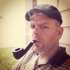 flat cap and smoking men