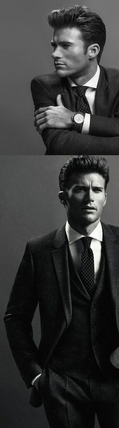 Scott Eastwood, Clint Eastwood's son, is in a Hugo Boss publicity campaign. He is wearing a suite that would look really good in a groom. Don't you think so?