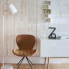 lampadaire inclinable en metal buckle zuiver blanc tabouret de bar deco maison table
