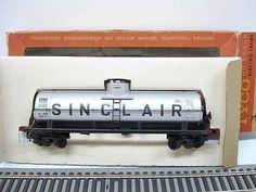 Sinclair Oil Company Single Dome Tank Car 3168 HO Scale by Tyco CI 1960'S   eBay