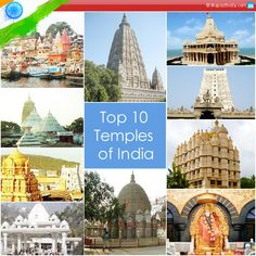 The vivid colours of the different religions residing in India give the country an admirable identity. Considering every temple across the country has something unique, our blogger highlights about ten temples of India, owing to their popularity, strong faith, history and architectural importance.