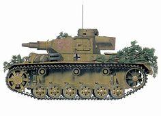 Panzerkampfwagen III modelo N, 7º Regimiento Panzer, 10ª División Panzer, Túnez, 1942.