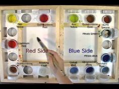 Watercolor Paints Lesson by Jennifer Branch