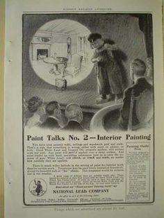 National Lead Company - Interior Paint 1900 Ad