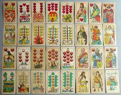 * Jeu de cartes aux enseignes allemandes4e quart 19e siècle - RITTER Johann (cartier) ; ALES Mikolas (dessinateur)