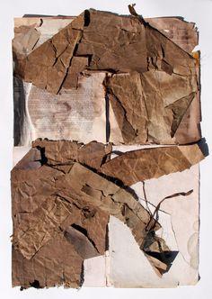"stremplerart: "" Collage BROKEN 2015 W. Strempler """