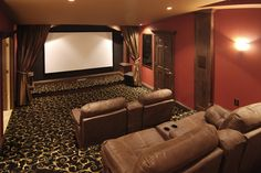This would be great for movie nights. (Media room - seating)