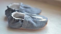 Grey linen shoes for baby Kids grey shoes Kids by SweetSwaddle