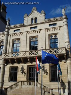 Parliament building of the Grand-Duchy of Luxembourg, Luxembuorg City=Luxembourg ❤️