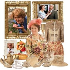 """Tea with Hyacinth Bucket (pronounced Bouquet). The Hilarious British social-climing housewife on """"Keeping Up Appearances"""" BBC British Tv Comedies, British Comedy, Keeping Up Appearances, Upper Crust, British Things, Bbc Tv, Tea Cozy, Comedy Tv, Tea Art"""