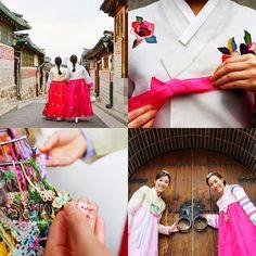 Imagine dressing up with Hanbok, the Korean traditional attire. Visit the below locations to try it on yourself!  1. Insa-dong PR/Tourist Information Center (19 Insadong 11-gil, Jongno-gu, Seoul) 2. Deoksugung Palace's Daehanmun Gate (99 Sejong-daero, Jung-gu, Seoul) 3. Namsangol Hanok Village (28 Toegye-ro 34-gil, Jung-gu, Seoul)  Imagine your Korea!  #ImagineyourKorea #Hanbok #Southkorea #Visitkorea #Travelkorea #Korea #Gorgeous #Traditional