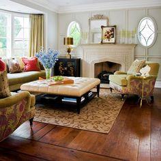 Beautiful hardwood floors.