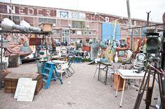 markt Rondneuzen in de Amsterdamse IJ-hallen pinned by barefootstyling.com