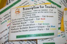 M & M Prescription for Teachers