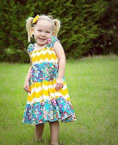 Sassy Summer Tiered Dress