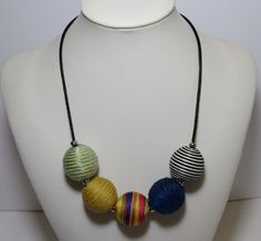 Handmade Necklace Adjustable Colorful Light Easy Wear by FabulousFuss on Etsy Handmade Necklaces, Handmade Gifts, Easy Wear, Light Colors, Beaded Necklace, Colorful, Trending Outfits, Unique Jewelry, How To Wear