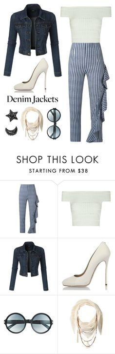 """""""Untitled #204"""" by maylamartha on Polyvore featuring Giuliana Romanno, Alexander McQueen, LE3NO, Dsquared2, Tom Ford and BCBGeneration"""