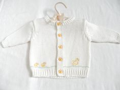 Baby Sweater Size 0 to 3 Month Clothing by ThePoshBabyShoppe