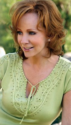 Reba McEntire/.....What a fine role model for  young country music ladies -- always has been, always will be.