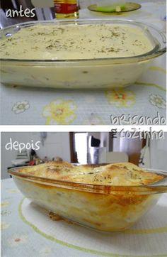 Brisando na Cozinha: Torta de massa de pastel