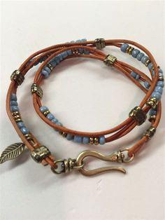 Beads Bracelets Ideas Diy Leather Cord #beading #pearlerbeads #ideas