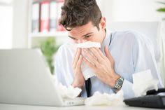 Die Grippe-Welle geht um: Wir haben die wirkungsvollsten Tipps für Berufstätige, um der Grippe-Gefahr aus dem Weg zu gehen....