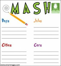 click to print out a copy to play - Fun Things To Print