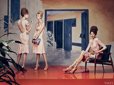 Vogue art director Grace Coddington is brilliant.
