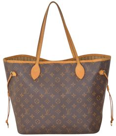 Louis Vuitton Monogram Neverfull Mm M40156 Brown Tote Bag. Get one of the hottest styles of the season! The Louis Vuitton Monogram Neverfull Mm M40156 Brown Tote Bag is a top 10 member favorite on Tradesy. Save on yours before they're sold out!