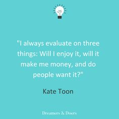 Dreamers & Doers podcast with Kate Toon running a business inspiring quote Going Self Employed, Content Marketing, Digital Marketing, Seo Consultant, Influencer Marketing, Energy Level, Copywriting, Business Opportunities, Getting Things Done