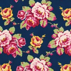 Lucky Girl Marcella in Green Flower Pattern Design, Flower Patterns, Print Patterns, Flower Ideas, Diy Sewing Projects, Sewing Crafts, Free Spirit Fabrics, Textiles, Best Iphone Wallpapers