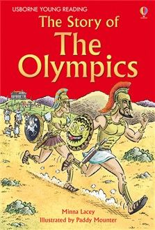 The story of The Olympics - perfect for young readers. I am reading it aloud to my 3 year old. The illustrations are great. If your child wants to read it on his own, level begins at age 9