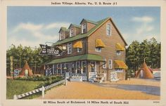 Indian Village Motel, Prints and Photographs, LVA.