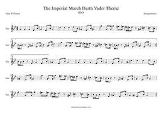 star wars saxophone sheet music - Google Search