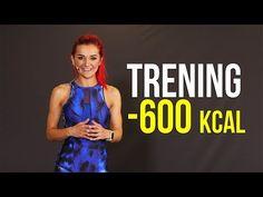 ODCHUDZAJĄCY TRENING INTERWAŁOWY | SPAL 600 KCAL (+ rozgrzewka i rozciąganie) - YouTube Fat To Fit, Tabata, Push Up, Health Tips, Thighs, Zumba, Health Fitness, Legs, Youtube