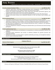 Jules Miller Events Resume  related free resume examples