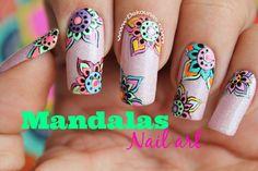 Decoración de uñas mandalas - Mandala nail art