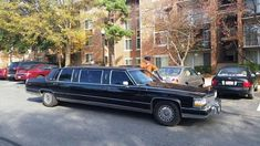 My friend's 90s-era limo, which once served the White House.