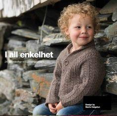 God gammeldags flettegenser fra I all enkelhet Baby Knitting, Crochet Hats, Children, Pattern, How To Make, Crafts, Design, Baby Knits, Baby Set