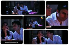 Zindagi Gulzar Hai: Kashaf and Zaroon Terrace Moon Scene.