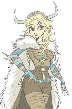 Viking Elsa - Hiccelsa