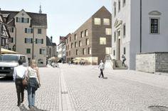 Rottenburg New City Library  //by harris + Kurrle architekten bda, Stuttgart (DE) Clerical // 1 Price: Perspective