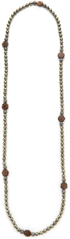 Hipchik Couture Women's Flower Station Necklace