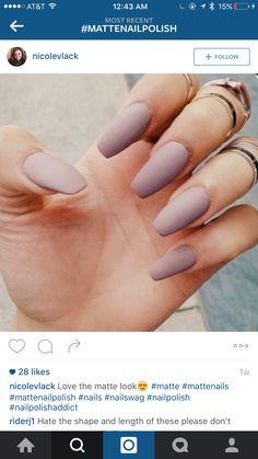 Love the matte nail polish
