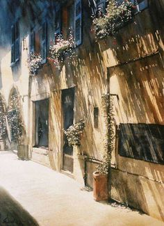 WATERCOLOR by Paul Dmoch/Belguium