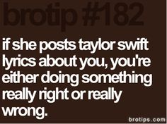 Bro tip #182 hahahaha always..